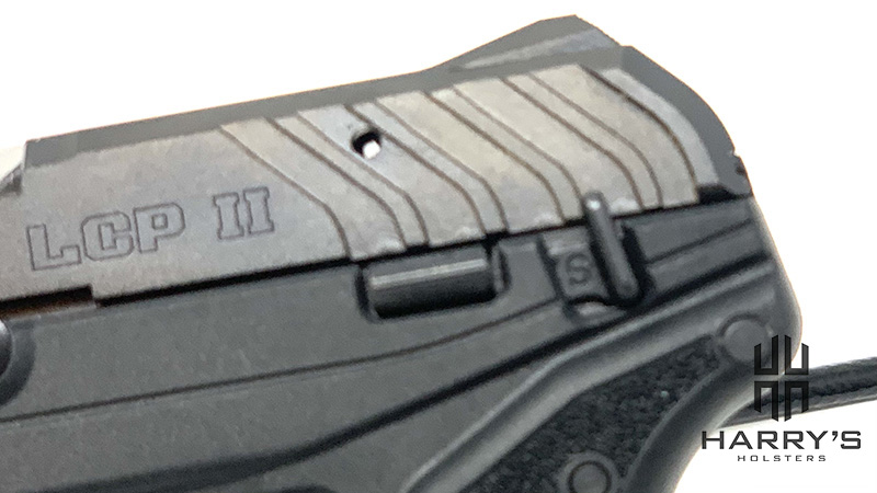 Ruger LCP2 Lite Safety On