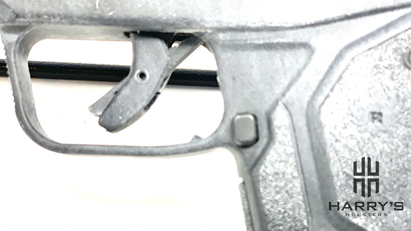 Ruger LCP2 magazine release