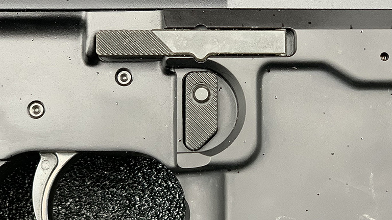 Sig MPX Magazine Release