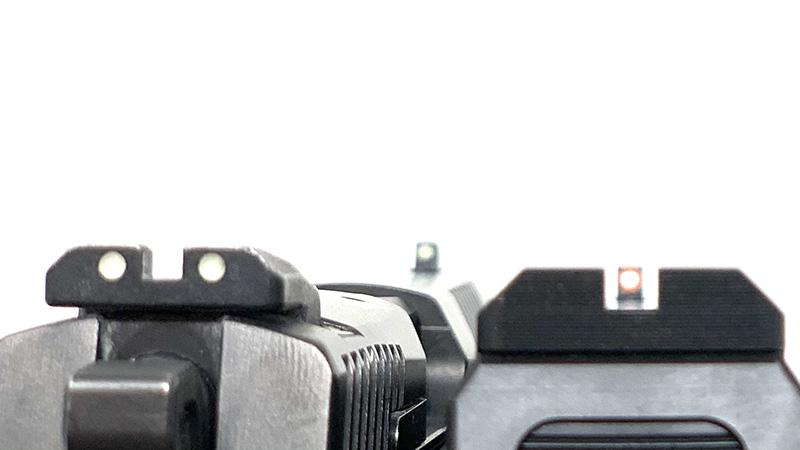 CZ P09 vs P10 Sight Picture