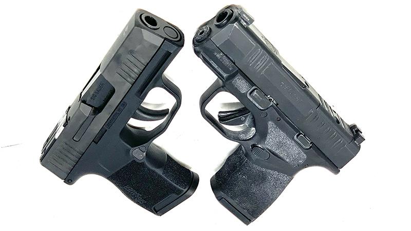 Springfield Hellcat vs Sig P365 SAS X2