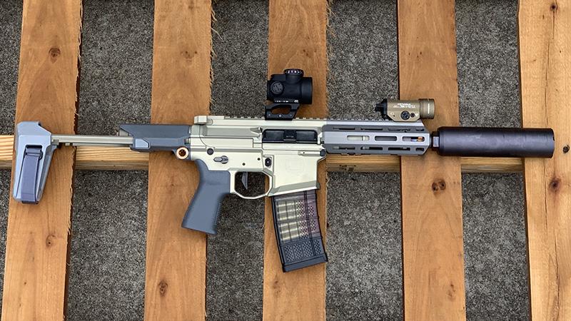 Honey Badger Pistol Brace Out Pallet Right