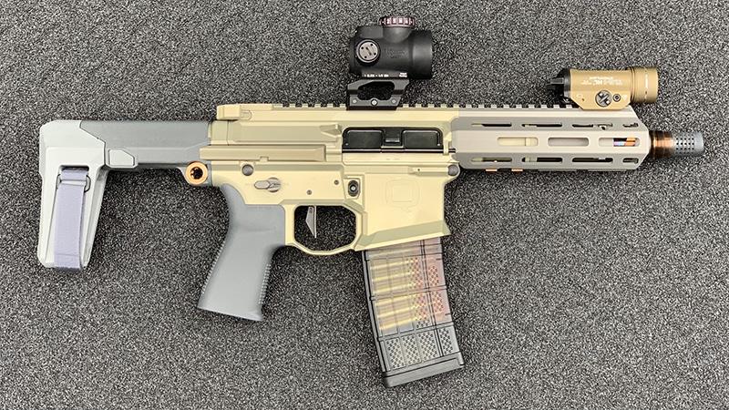 Honey Badger Pistol No Can Right