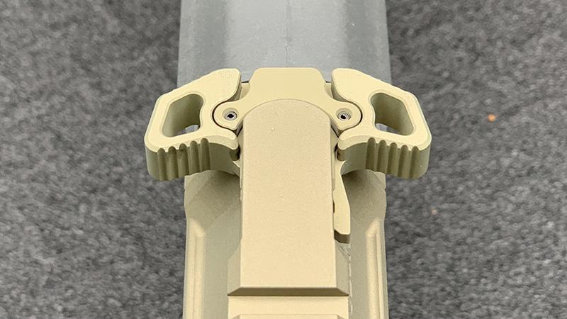 Honey Badger Pistol Radian Charging Handle Top