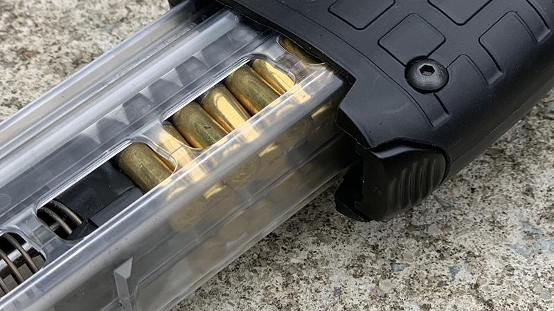 Kel Tec CP33 Magazine Partially In gun