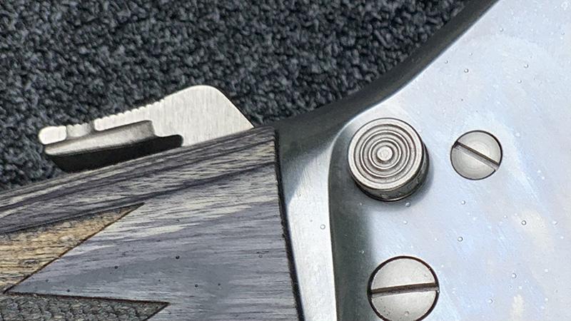Marlin 1895 SBL Hammer Cocked Safety On