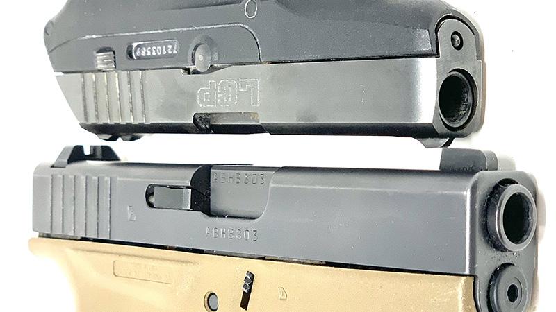 Glock 42 vs LCP slides