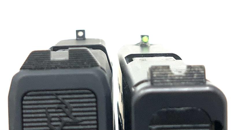 Glock 43 vs Taurus GX4 Sights