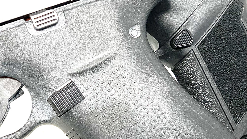 Glock 43x vs Taurus GX4 Magazine Release
