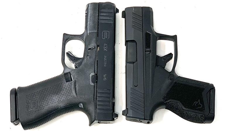 Glock 43x vs Taurus GX4 T
