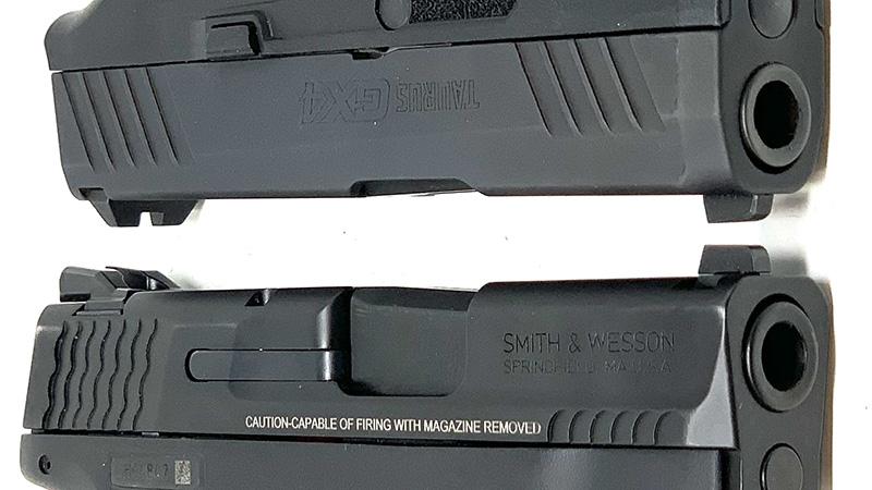 SW Shield Plus vs Taurus GX4 Slides