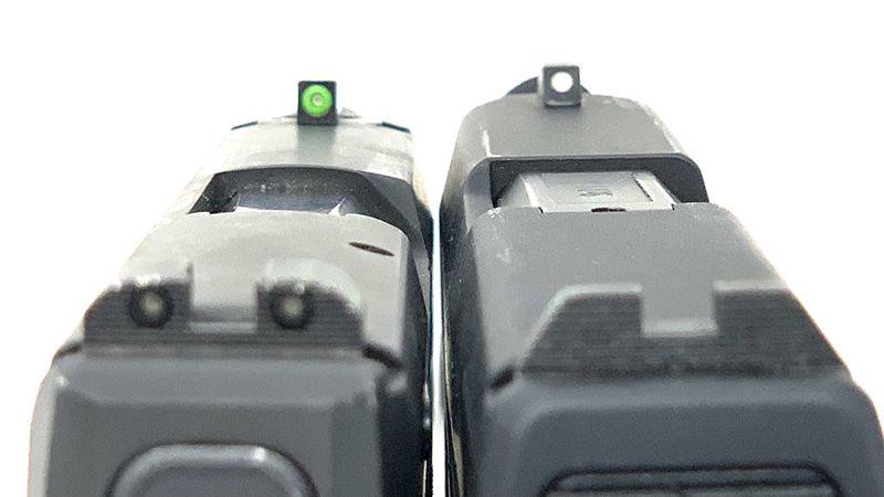 Sig P365 vs Taurus GX4 Sights