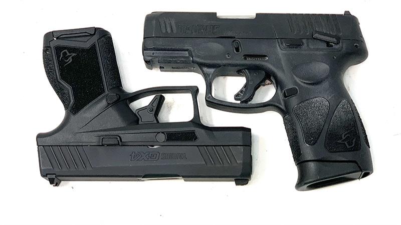 Taurus G3c vs GX4 Square