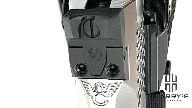 Wilson Combat EDC X9 Review rear sight top