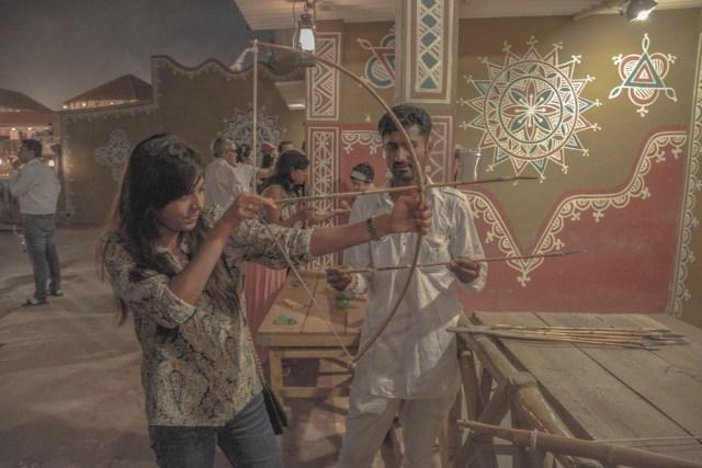 Chauki Dhani archery