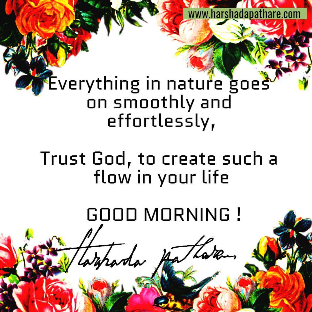 Morning Life Quotes Good Morning Quotes  Harshada Pathare I Author Thought Weaver