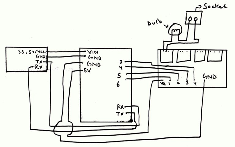 Code And Circuit Diagram For Home Automation System Using