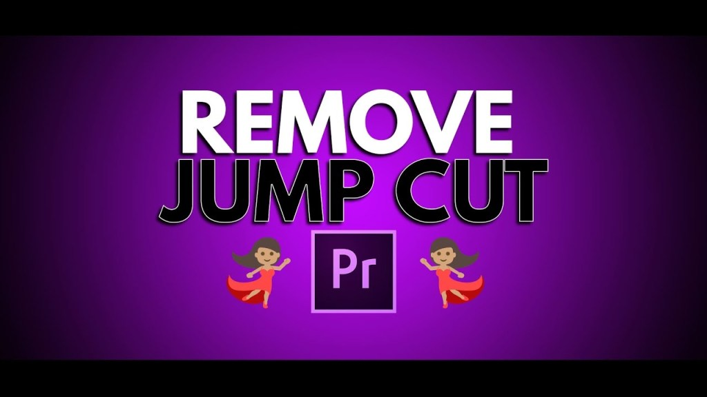 how to remove jump cut in premiere pro