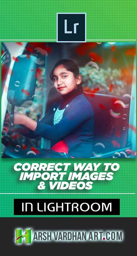 how to import images lightroom-Pinterest