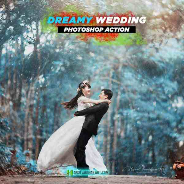 Dreamy Wedding-Photoshop Action Pack-HarshVardhanArt 1
