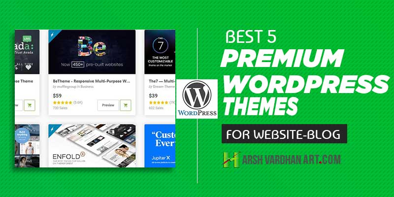 Best 5 WordPress Premium