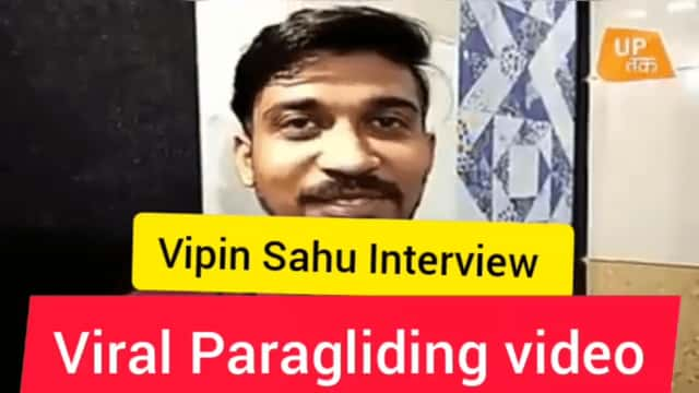 Viral Paragliding Video