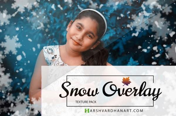 Snow-Overlays Photoshop