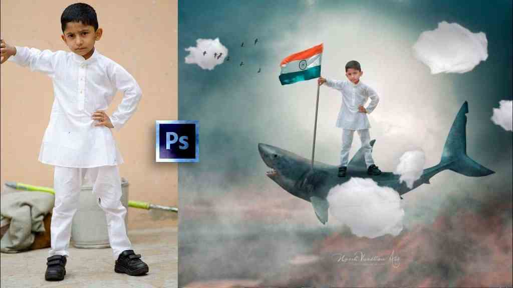 Independence Day Editing Surreal Photo Manipulation