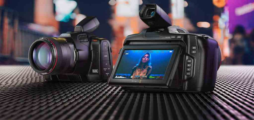 New Blackmagic Pocket Cinema Camera 6K Pro