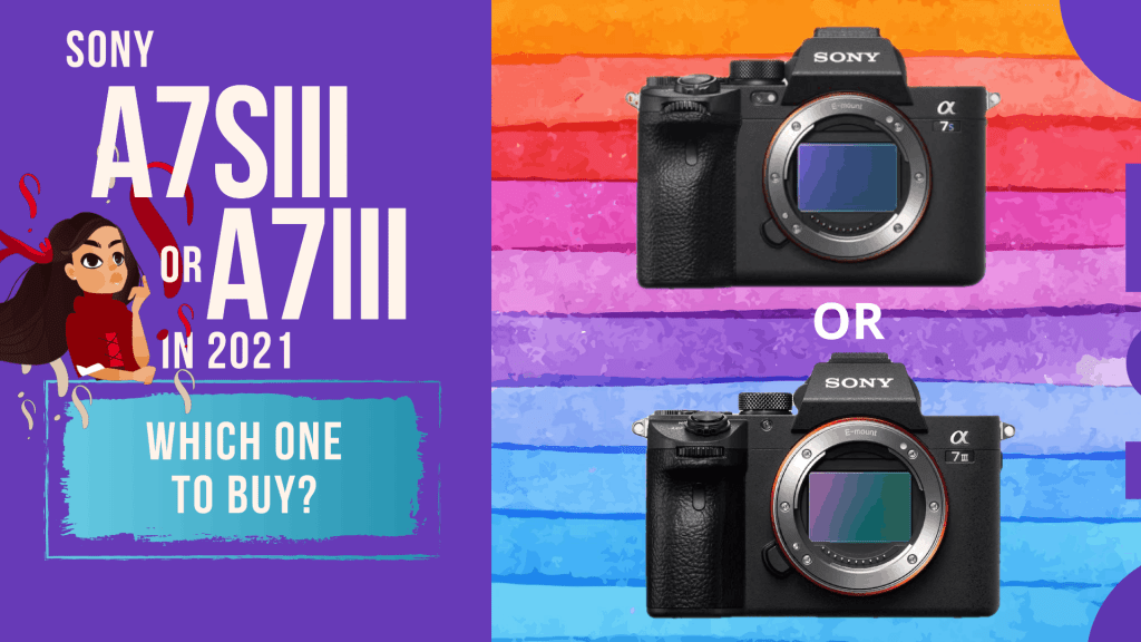 Sony a7iii Vs a7s iii | Which one to Buy in 2021 | Must watch Before You Buy