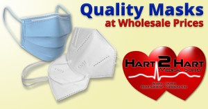 Hart2Hart.com, Quality Masks at Wholesale Prices, KN95, 3-ply masks. COVID-19. Corona Virus Protection