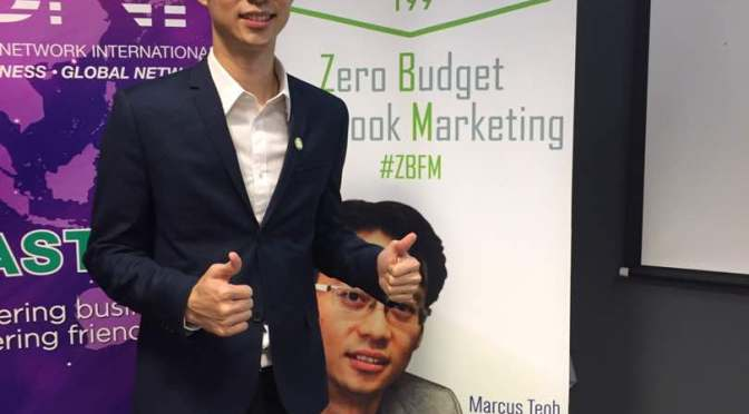 Marcus Teoh – Property Agent Full House Crowd On Zero Budget Facebook Marketing