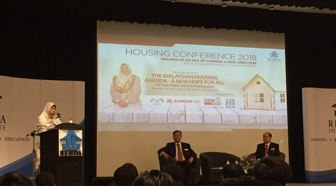 YB Zuraida Wants To Reduce Compliance Cost and More IBS Development To Make Property More Affordable