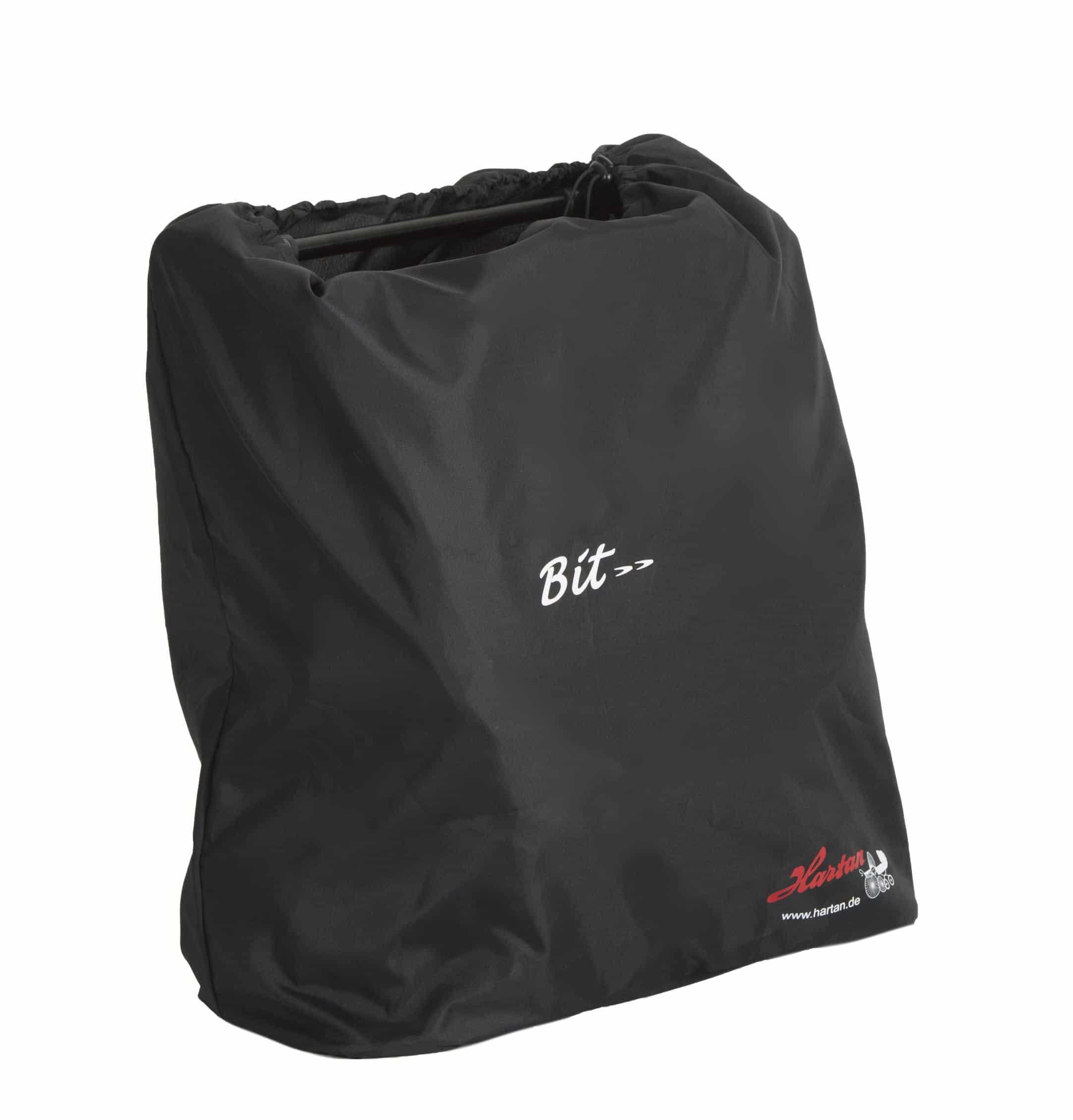 Bit folded in bag
