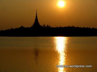 Sunset di Khon Kaen