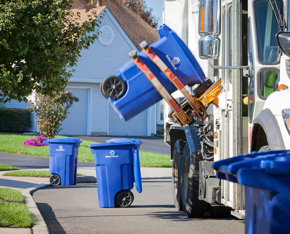 Curbside Pickup  Harters Quick Clean Up  Garbage