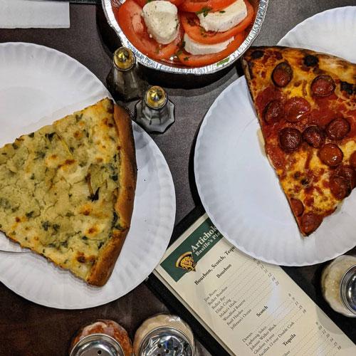 Artichoke Basille's Pizza Hartford, CT
