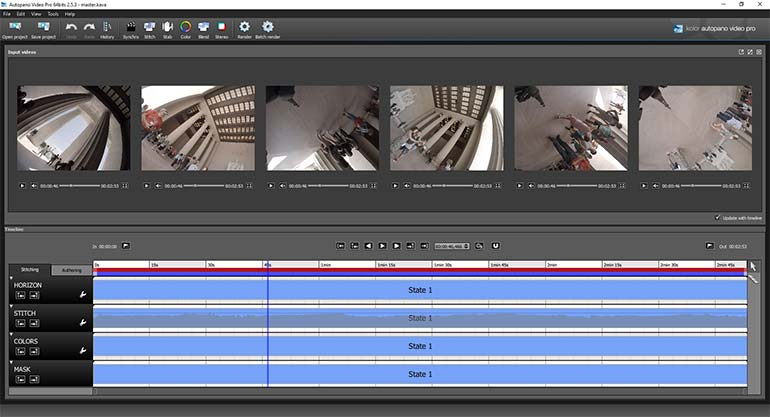 Kolor Autopano: File Import Results