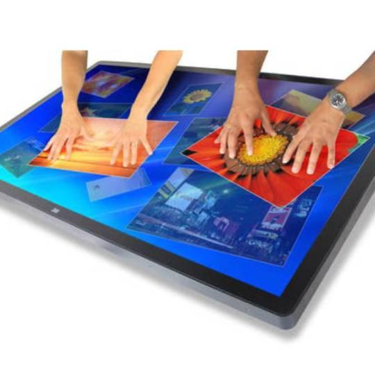 "3M 46"" Multi-Touch Display, 1080p, DP, HDMI, VGA, DVI | HTR"