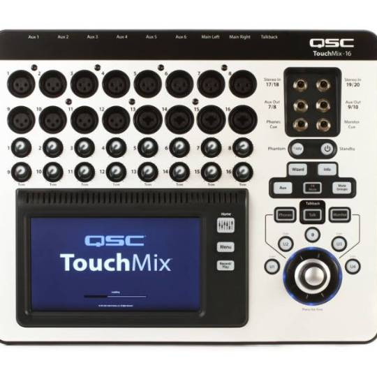 QSC Touchmix 16, Audio Mixer Rental | HTR