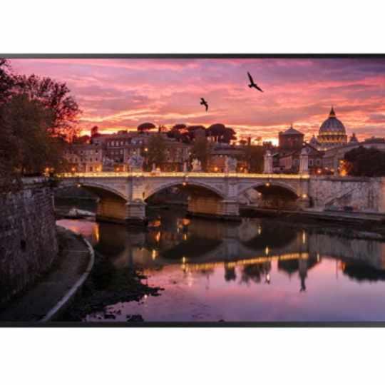 "Samsung 55"" UHD 4K LED Display, 10W x 2, (3) HDMI, USB, LAN, Wi-Fi | HTR"