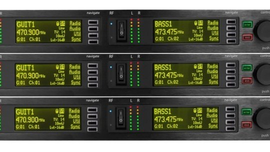 Shure PSM-1000 In-Ear Monitor System Rental (Six Channel) | HTR