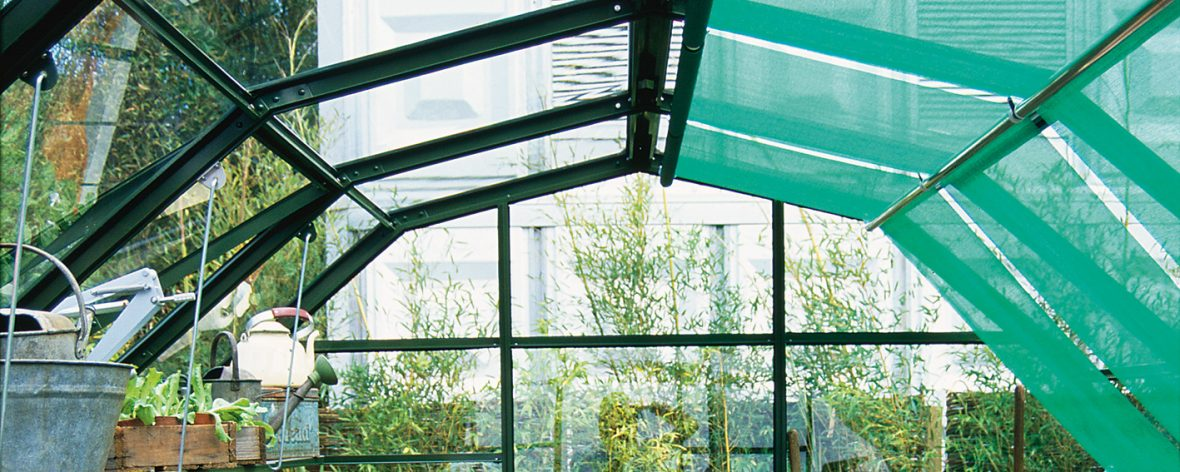 Hartley Greenhouse Roller Shades