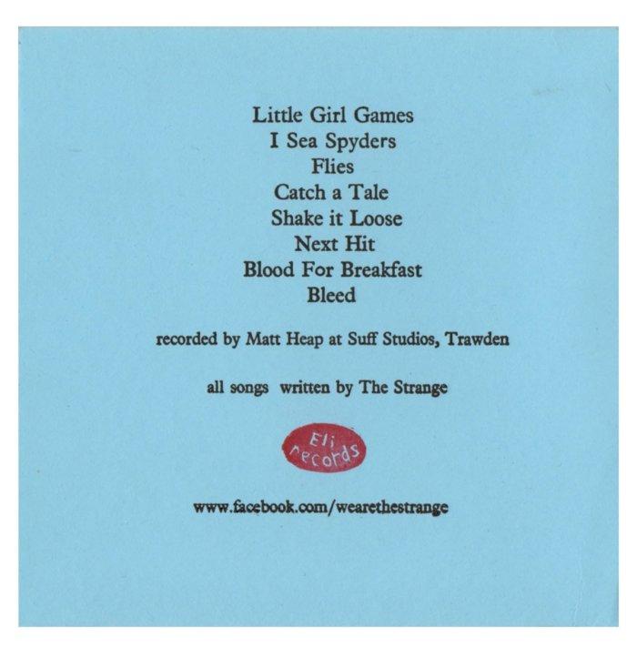 The Strange - Sleep - Back Cover - From Eli Records