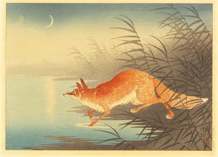 Ohara Koson woodblock print
