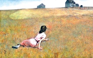 Andy Wyeth's Christina's World