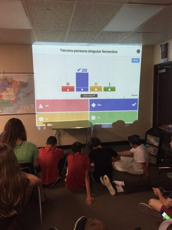 Kahoot-technology In Classroom Hart Literacy