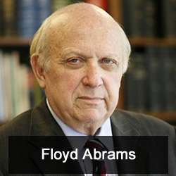 Floyd Abrams, author of The Soul of the First Amendment