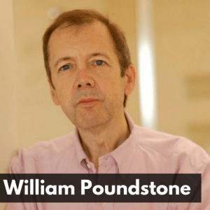 William Poundstone, author of Head in the Cloud: Why Knowing Things Still Matters When Facts are So Easy to Look Up
