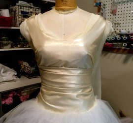 New Bodice Design Draped